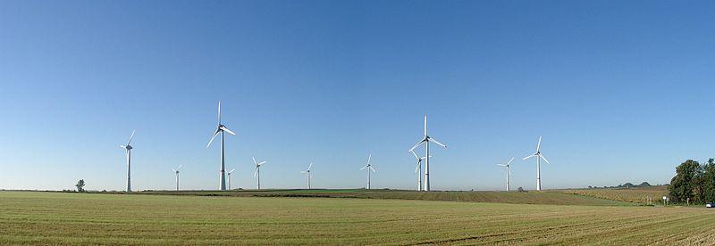Che cos'è l'energia eolica.